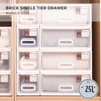 Brick Single Tier Drawer 25L - G5203