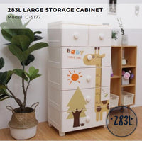 Citylife Large Storage Cabinet - 283L - G5177
