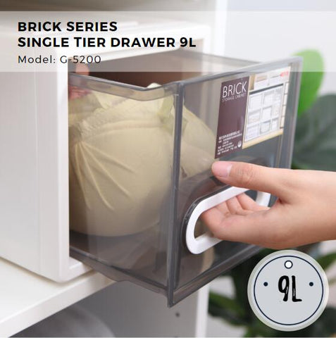 Citylife Brick Series Single Tier Drawer - 9L - G5200