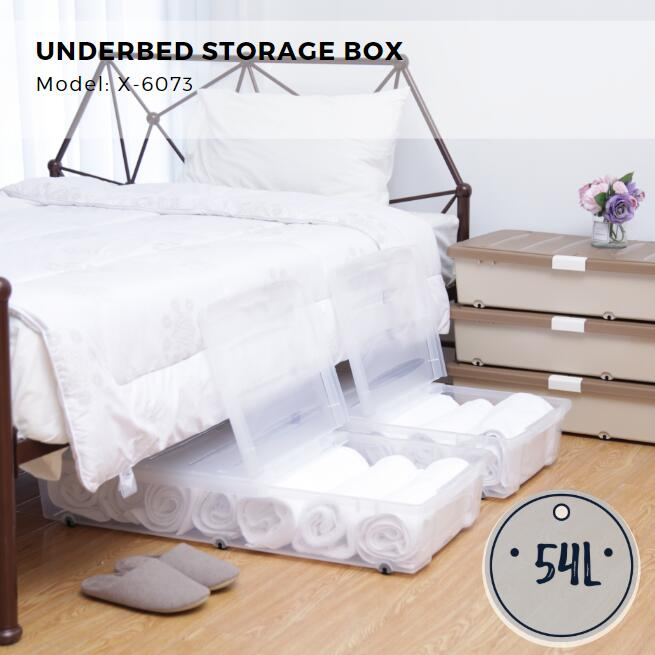 Citylife Underbed Storage Box - 54L