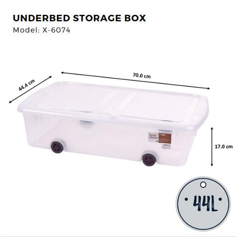 Citylife Underbed Storage Box - 44L -X6074