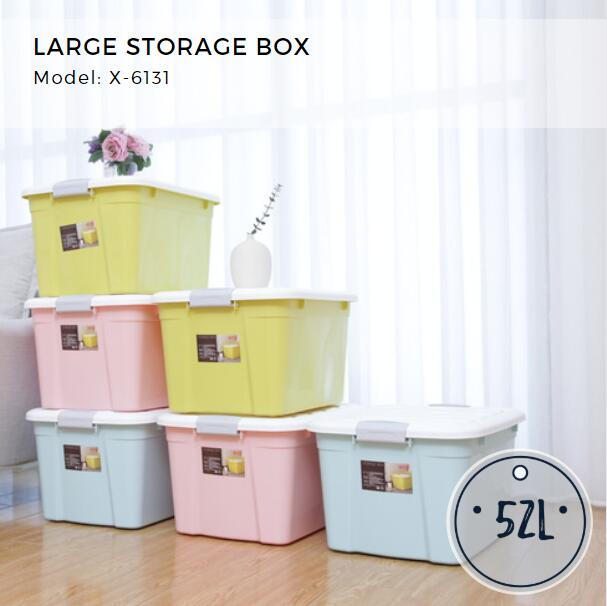 Citylife Large Storage Container - 52L