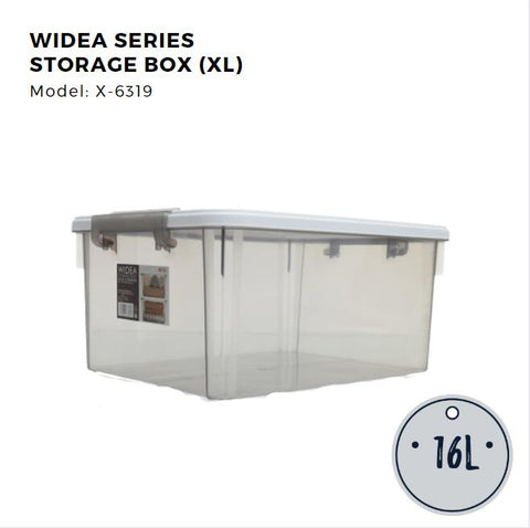 Citylife Widea Series Storage Box - XL 16L - X6319 (1 Piece)