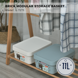 Citylife Brick Modular Storage Basket - Medium Size 11L - L7273 (1 Piece)