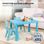 Citylife Sturdy Kids Chair With Backrest - D-2049