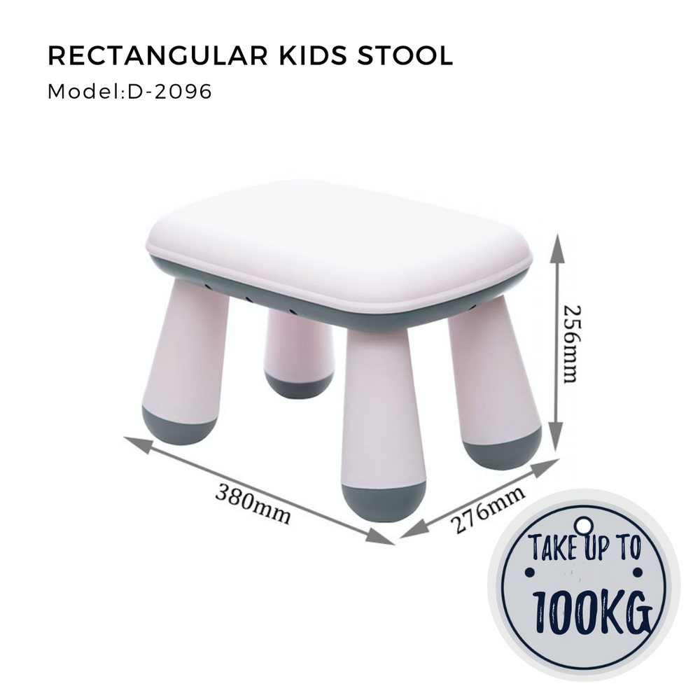 Citylife Rectangular Kids Stool - D2096