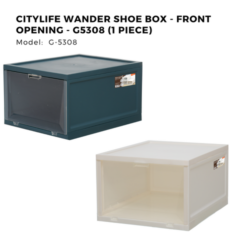 Citylife Wander Shoe Box - Front Opening - G5308 (1 Piece)