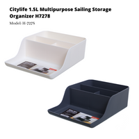 Citylife Multipurpose Sailing Storage Box -1.5L - H7278 (1 Piece)
