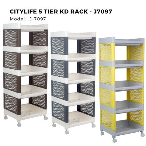 Citylife 5 Tier KD Rack - J7097