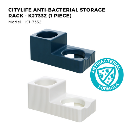 Citylife Anti-Bacterial Storage Rack - KJ7332 (1 Piece)