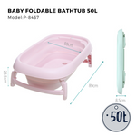 Citylife Baby Foldable Bathtub 50L
