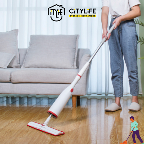 Citylife Homehelper Self-Wringing Mop