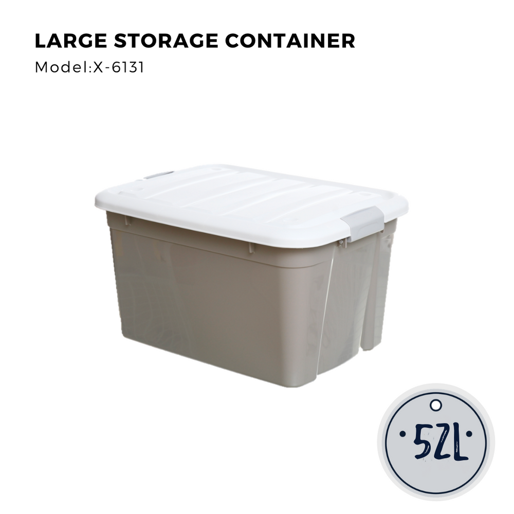 Citylife Large Storage Container - 52L - X6131
