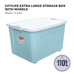 Citylife Frost Single Tier Drawer Large 9L - G5067