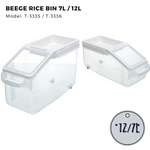 Citylife Rice Container 7L-12L - T3335/3336