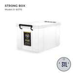 Citylife Heavy Duty Box 31L (Reinforced for Better Durability) - X6070