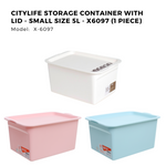 Citylife Storage Container with Lid - Small Size 5L - X6097 (1 Piece)