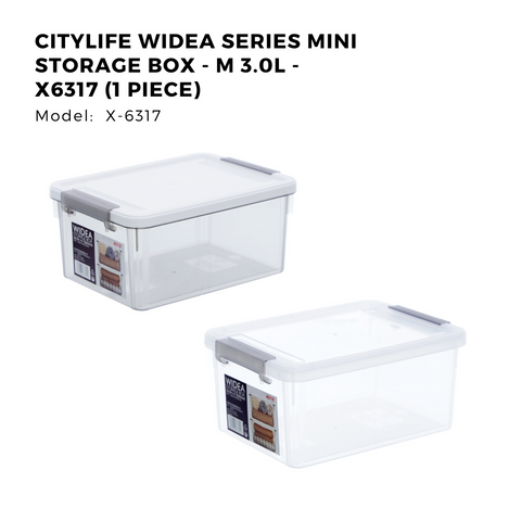 Citylife Widea Series Mini Storage Box - M 3.0L - X6317 (1 Piece)