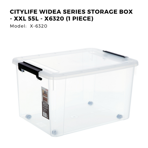 Citylife Widea Series Storage Box - XXL 55L - X6320 (1 Piece)