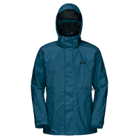Brooks Range Flex, a waterproof and windproof hardshell jacket for men from Jack Wolfskin Australia and New Zealand.