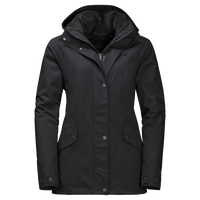 Park Avenue Jacket, a waterproof coat for women from Jack Wolfskin Australia and New Zealand.
