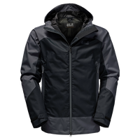 North Slope Mens, a waterproof hardshell jacket for men from Jack Wolfskin Australia and New Zealand.