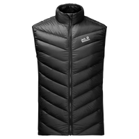 Atmosphere Vest Men, an insulated and windproof down vest for men from Jack Wolfskin Australia and New Zealand.