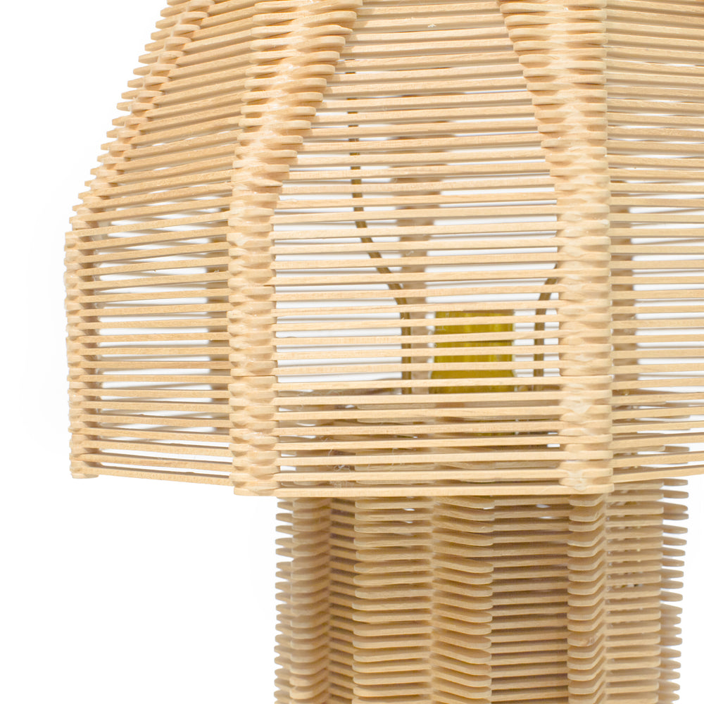 Popsicle Stick Lamp