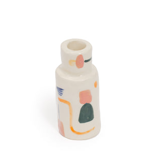 Painted Bud Vase