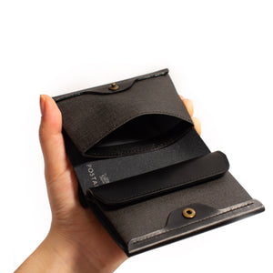 Pressed Cotton Card & Coin Wallet
