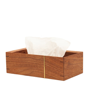 "Tissue case ""Walnut/cherry"""