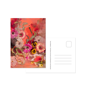 Smoking Flowers Postcard Print Set