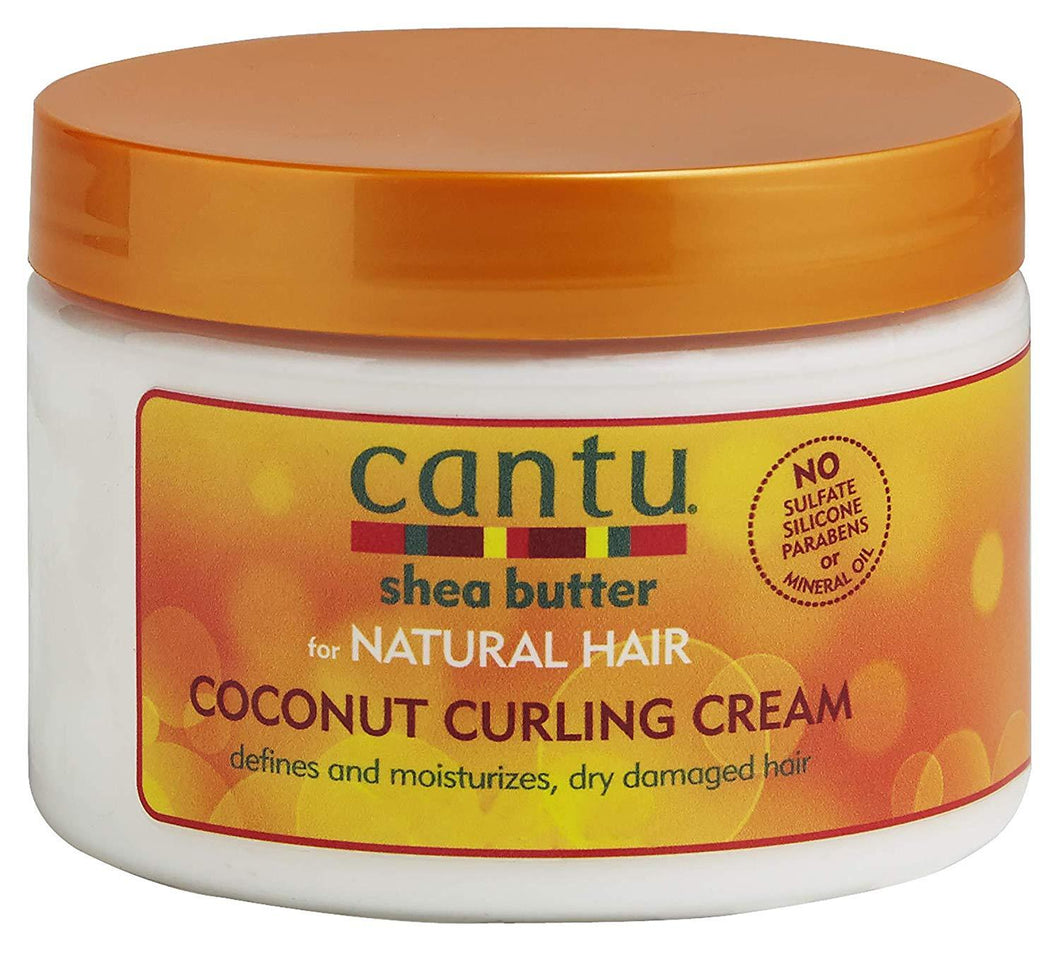 Cantu Haircare Cantu Coconut Curling Cream, 12 Ounces/ 340g