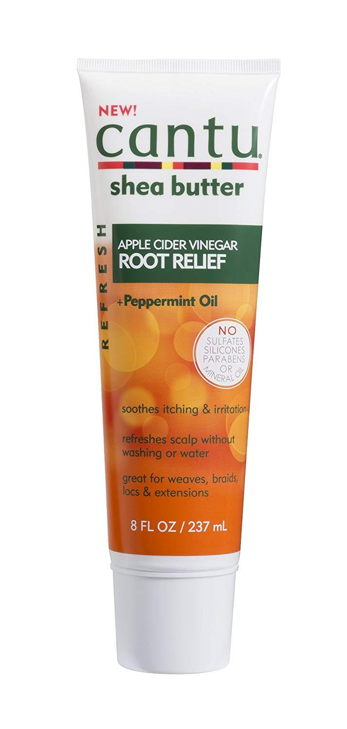 Cantu Haircare Cantu Refresh Root Relief with Apple Cider Vinegar and Peppermint Oil, 8 FL Ounce/237ml