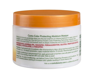 Cantu Haircare Cantu Shea Butter Anti Fade Color Protecting Moisture Masque with Quinoa Protein, 12 Ounce/340g