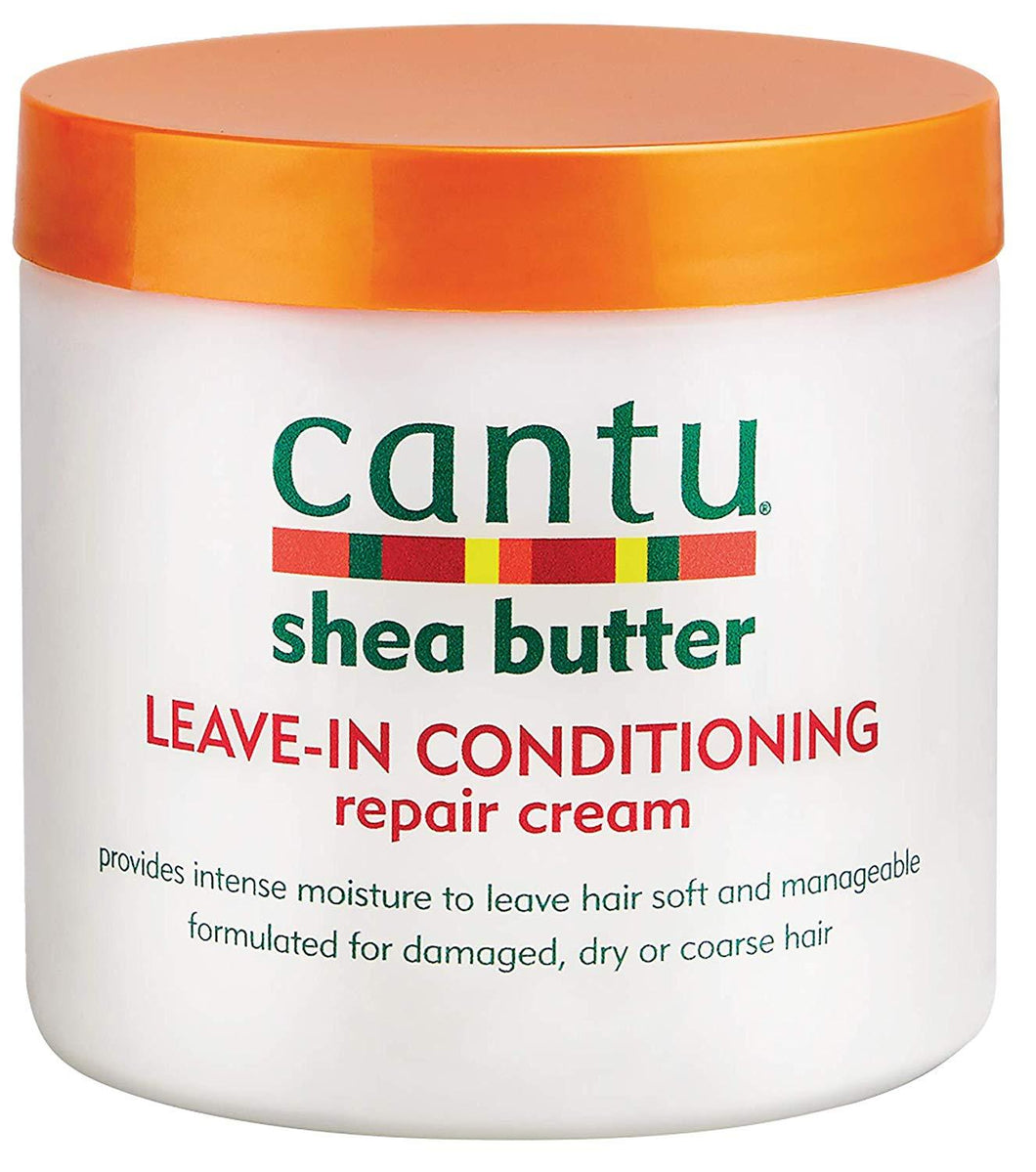 Cantu Haircare Cantu Shea Butter Leave-In Conditioning Repair Cream, 16 Ounce/453g