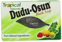 Load image into Gallery viewer, Lions Mane Enterprises Ltd Bath & Beauty 150g / 1 bar of soap Tropical Naturals Dudu Osun Pure Natural Black Soap with Shea Butter