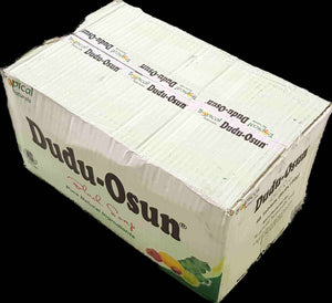 Lions Mane Enterprises Ltd Bath & Beauty 7900g / 48 bars of soap (Boxed) Tropical Naturals Dudu Osun Pure Natural Black Soap with Shea Butter