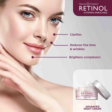 Load image into Gallery viewer, Lions Mane Enterprises Ltd Bath & Beauty Skincare L de L Cosmetics Retinol Advanced Skin Brightening Night Cream