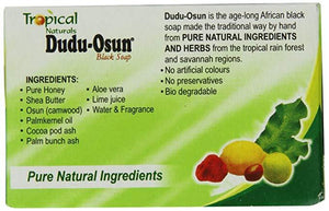 Lions Mane Enterprises Ltd Bath & Beauty Tropical Naturals Dudu Osun Pure Natural Black Soap with Shea Butter