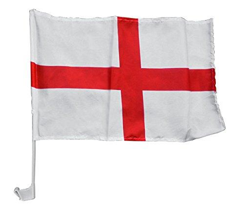 Lions Mane Enterprises Ltd Fashion, Lingerie and Clothing England Car Window Flag (Single Pack)