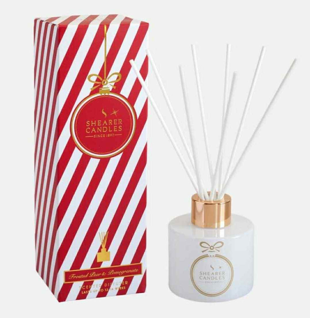 Shearer candles Candles and Diffusers Shearer Candles Frosted Pear & Pomegranate Scented Diffuser