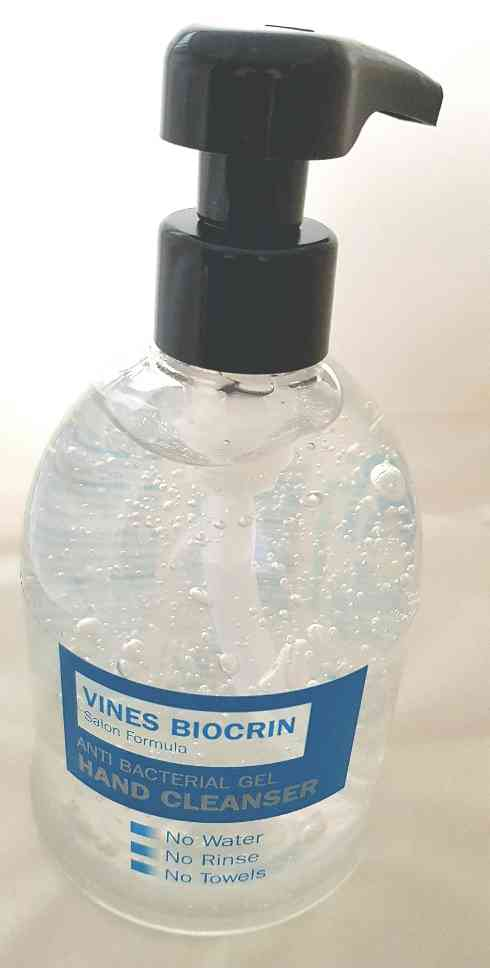 Vines Biocrin Bath & Beauty Vines Biocrin Antibacterial Hand Gel Cleanser (65%) 500ml / 16.9 fl oz