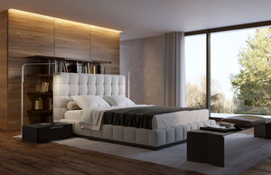 Thompson Tufted Upholstered Bed from Modloft