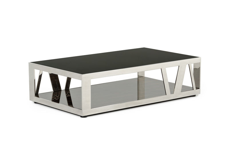 Rackham Walnut & Smoked Glass Coffee Table