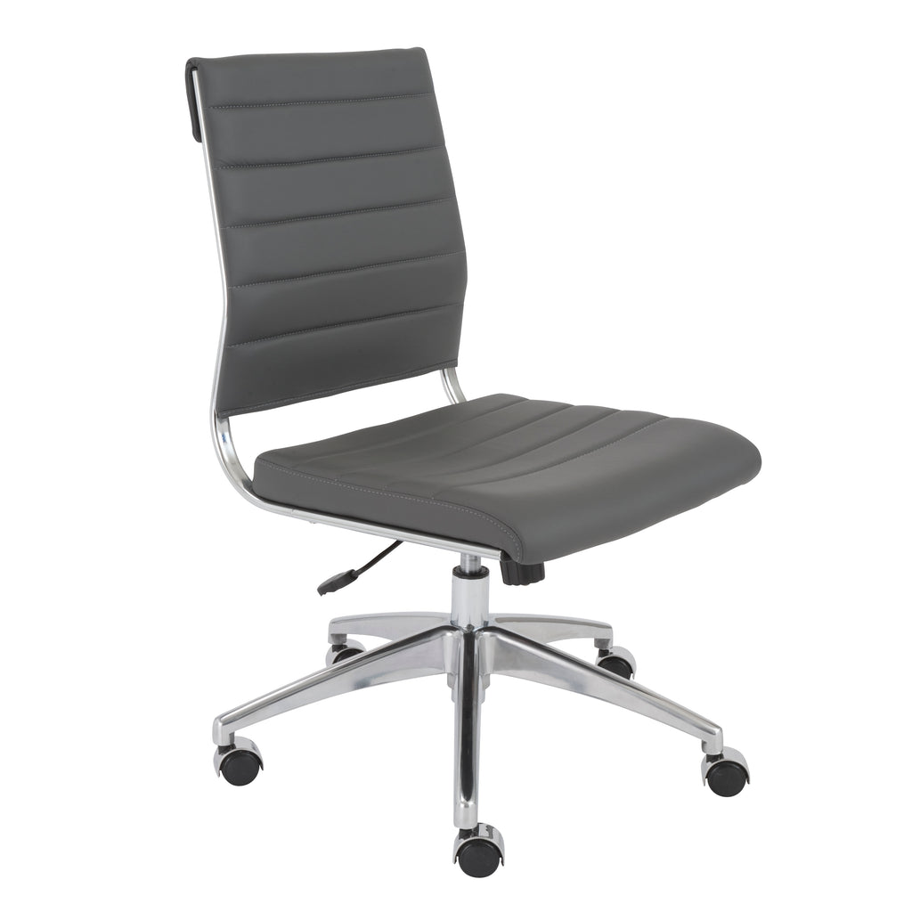 Axel Armless Low Back Desk Chair