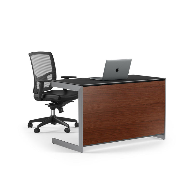 Optional Back Panel If floating the Compact Desk in a room, the optional Compact Desk Back Panel 6008 is necessary to finish the desk on all sides.