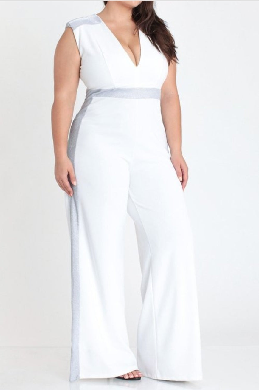 Chic and Classic (Plus Size) JumpSuit