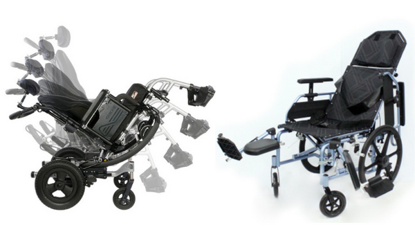 Tilting (Tilt-In-Space) Wheelchair or Reclining Wheelchair? Which One Better?