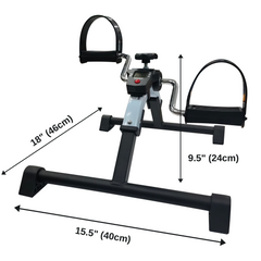 Pedal Excerciser with Digital Meter dimensions